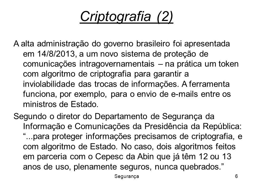 Criptografia (2)