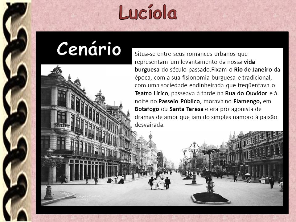 Lucíola Cenário.
