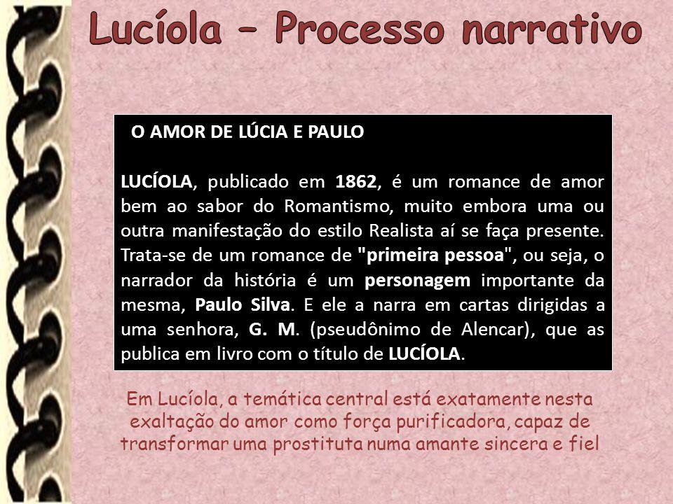 Lucíola – Processo narrativo