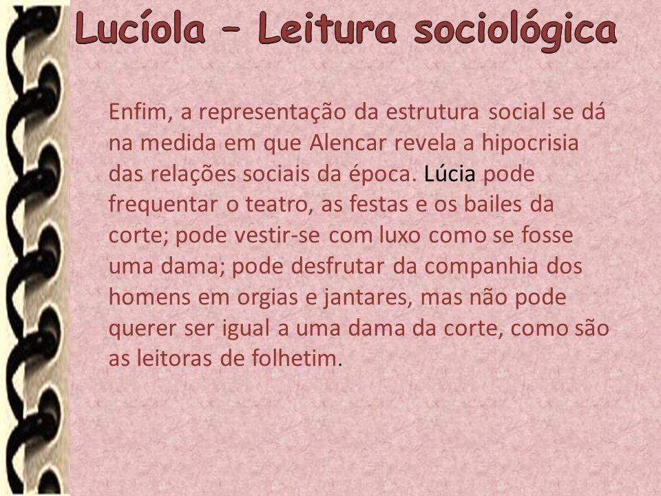 Lucíola – Leitura sociológica