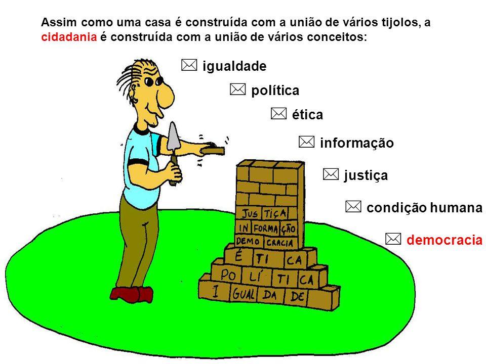  igualdade  política  ética  informação  justiça