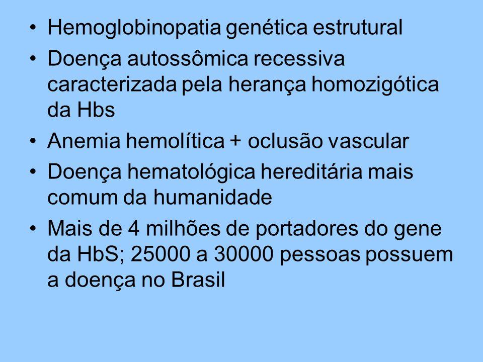 Hemoglobinopatia genética estrutural