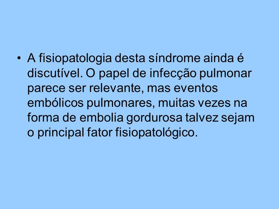 A fisiopatologia desta síndrome ainda é discutível