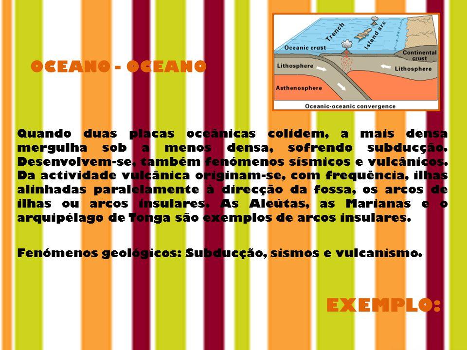 EXEMPLO: OCEANO - OCEANO