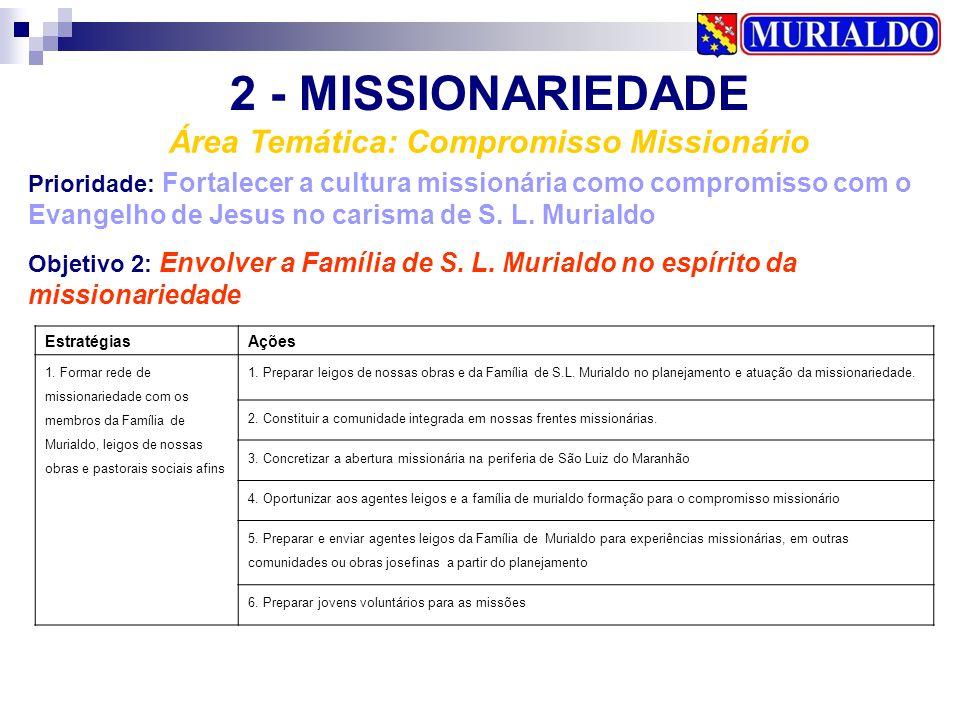 Área Temática: Compromisso Missionário