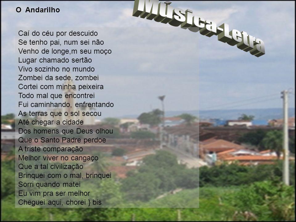 Música-Letra O Andarilho