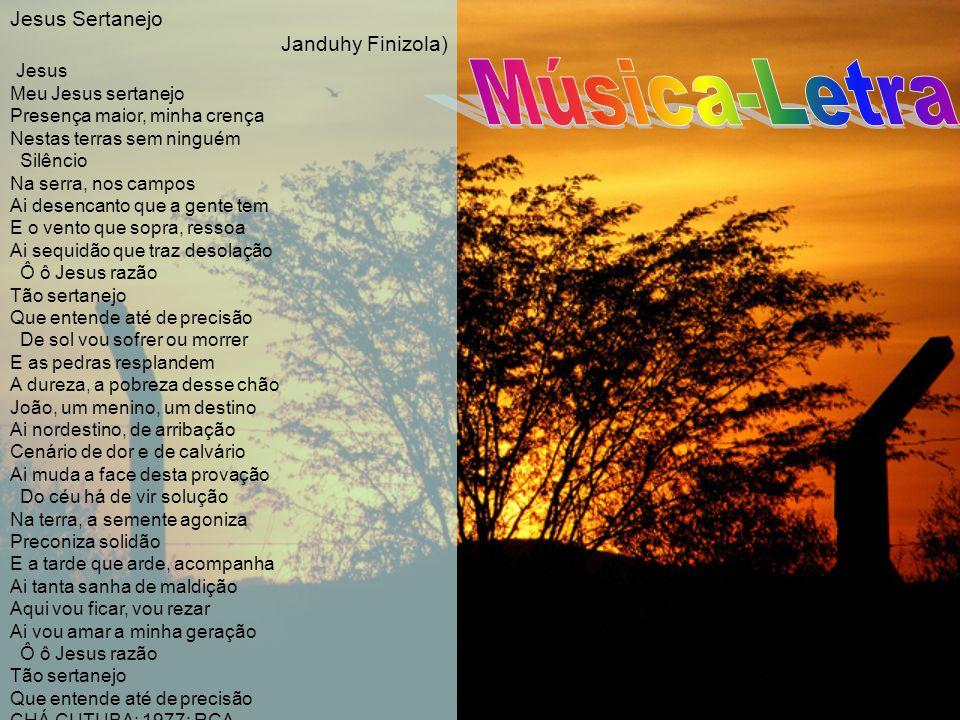 Música-Letra Jesus Sertanejo Janduhy Finizola) Jesus