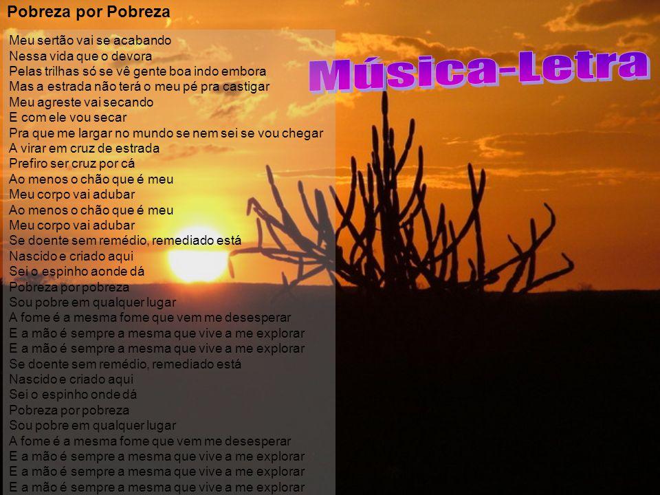 Música-Letra Pobreza por Pobreza
