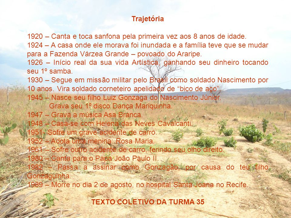 TEXTO COLETIVO DA TURMA 35