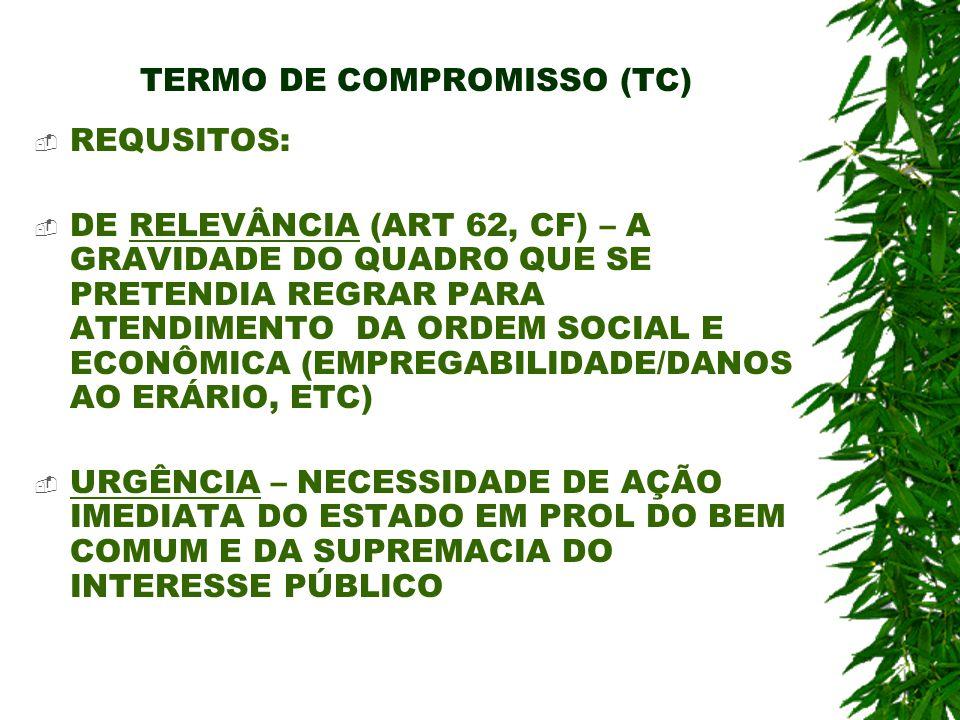 TERMO DE COMPROMISSO (TC)