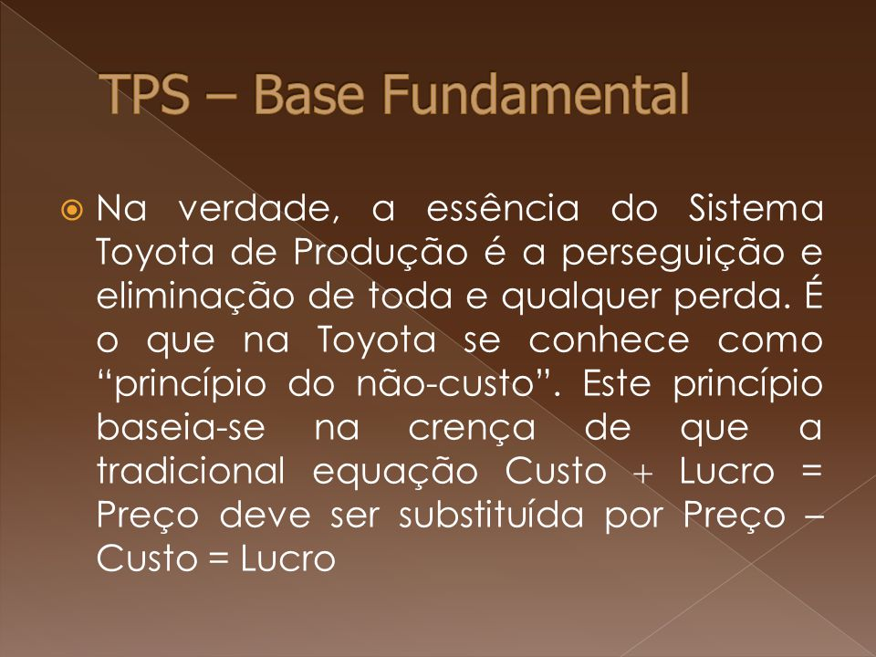 TPS – Base Fundamental
