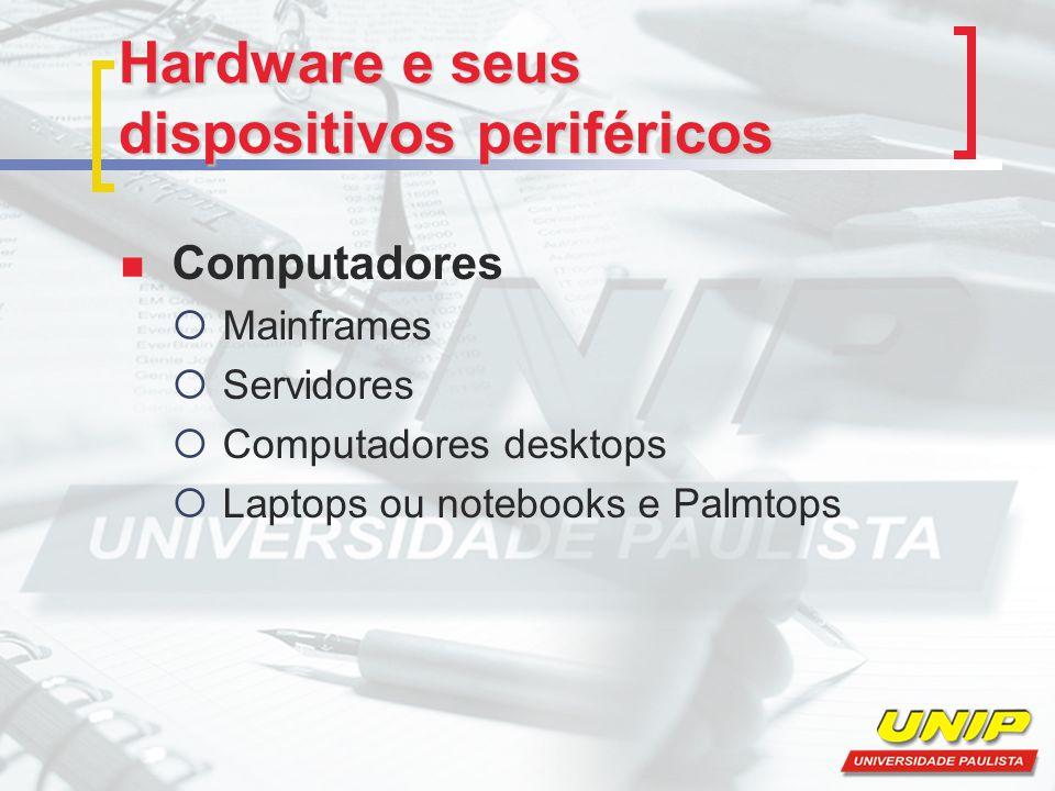 Hardware e seus dispositivos periféricos