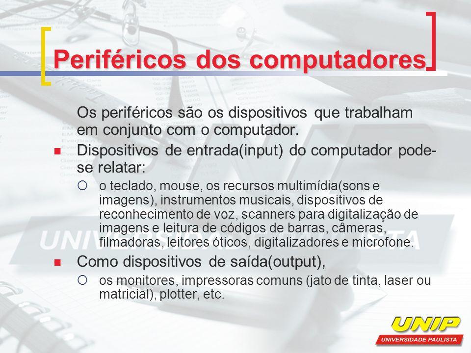 Periféricos dos computadores