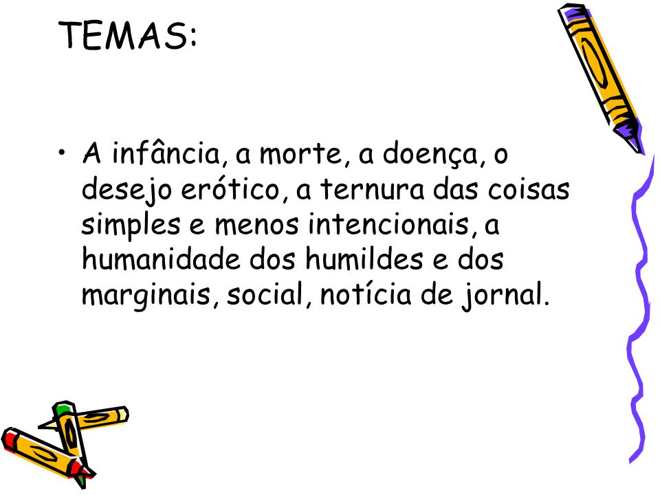 TEMAS: