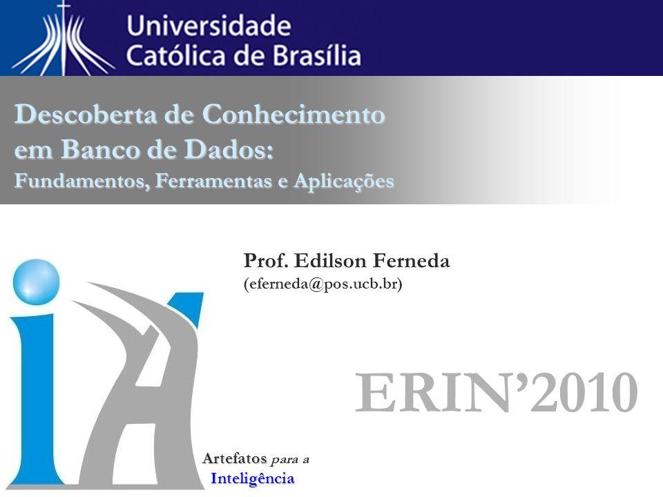 Prof. Edilson Ferneda (eferneda@pos.ucb.br) ERIN'2010