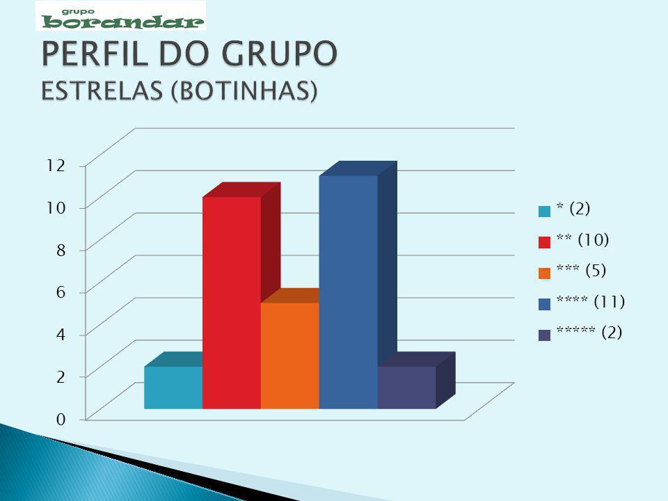 PERFIL DO GRUPO ESTRELAS (BOTINHAS)