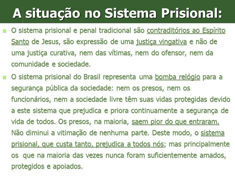 A situação no Sistema Prisional: