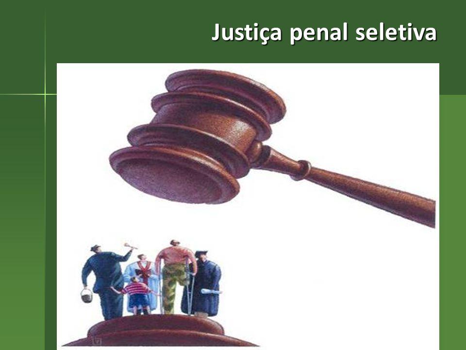 Justiça penal seletiva