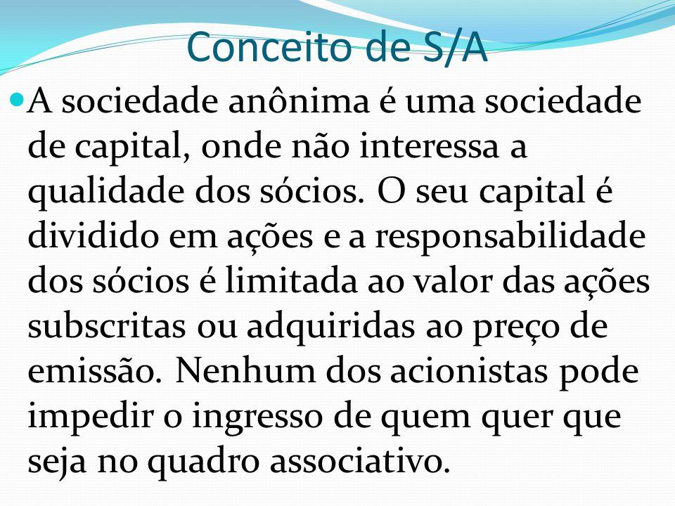 Conceito de S/A