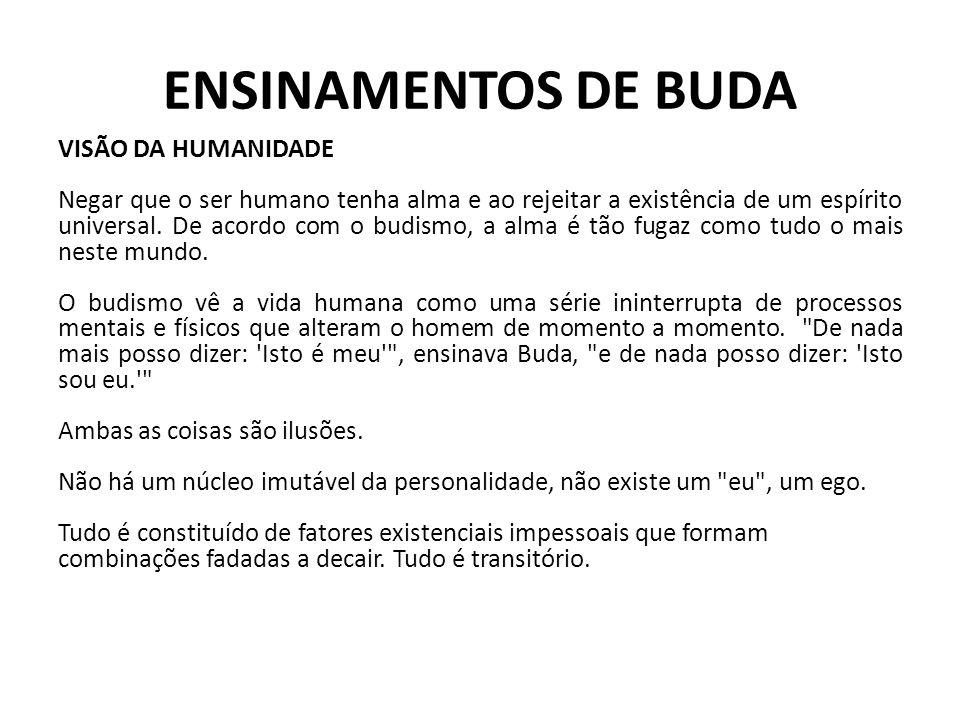 ENSINAMENTOS DE BUDA