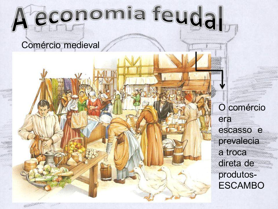A economia feudal Comércio medieval