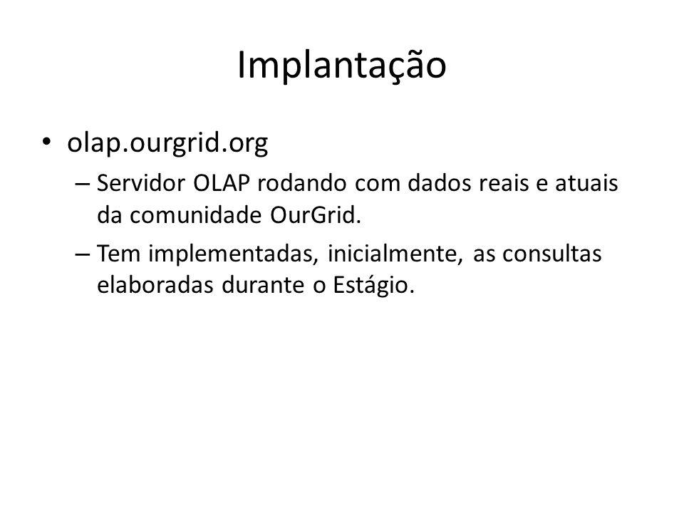 Implantação olap.ourgrid.org