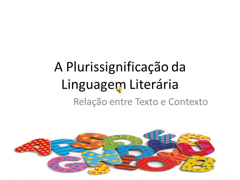 A Plurissignificação da Linguagem Literária