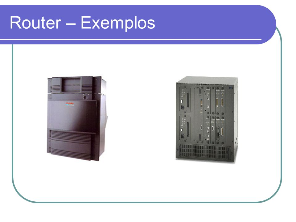 Router – Exemplos