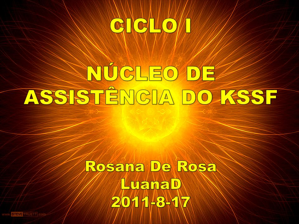 NÚCLEO DE ASSISTÊNCIA DO KSSF