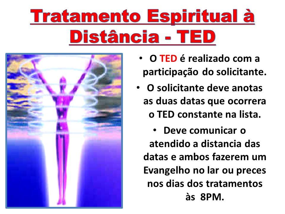 Tratamento Espiritual à Distância - TED