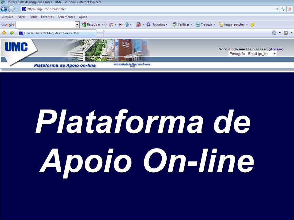 Plataforma de Apoio On-line