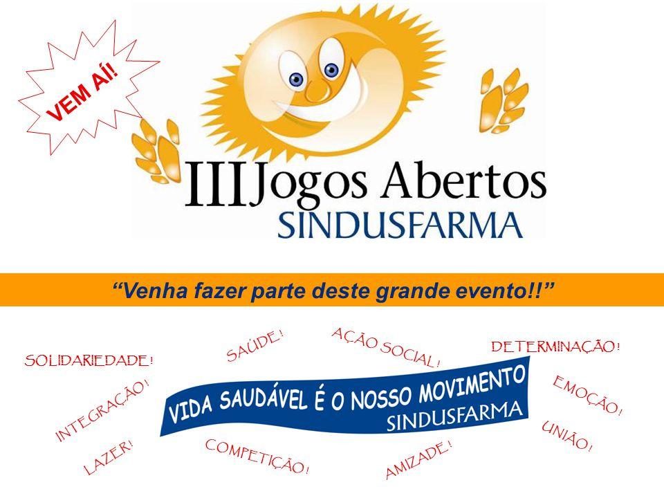 Venha fazer parte deste grande evento!!