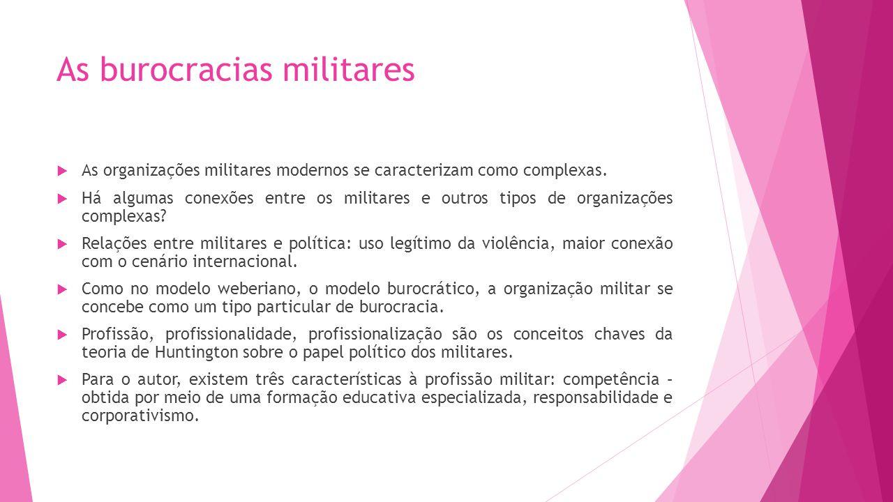 As burocracias militares
