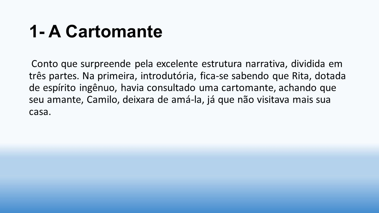 1- A Cartomante