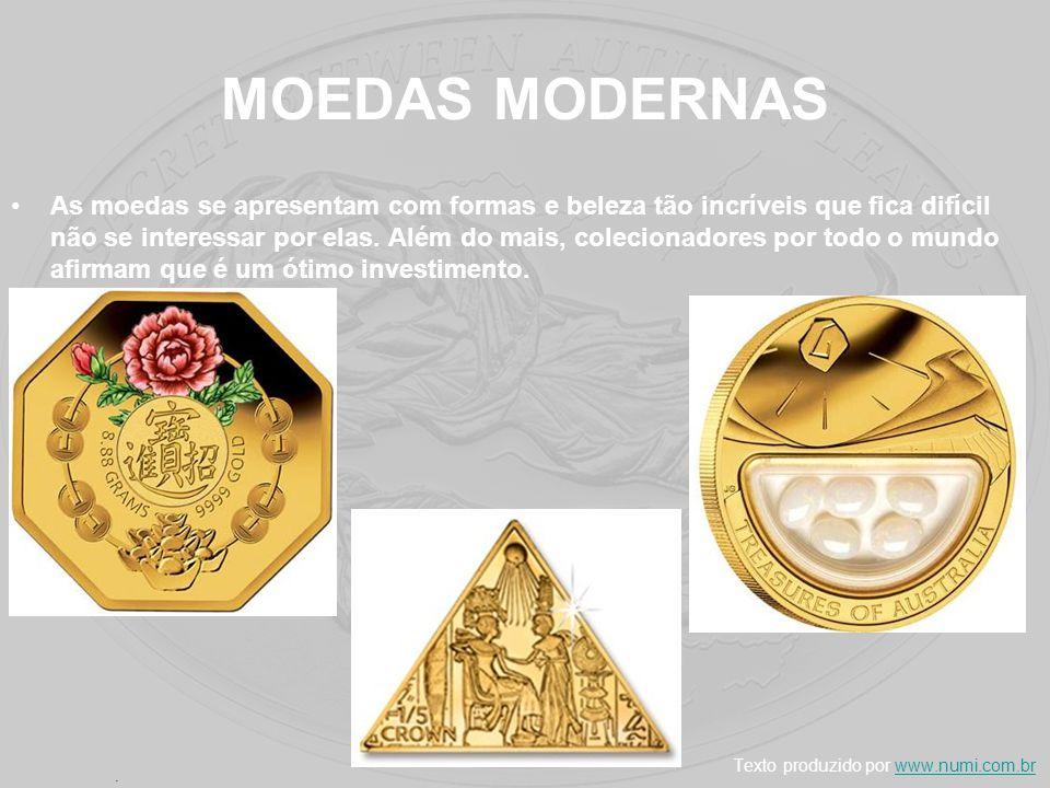 MOEDAS MODERNAS