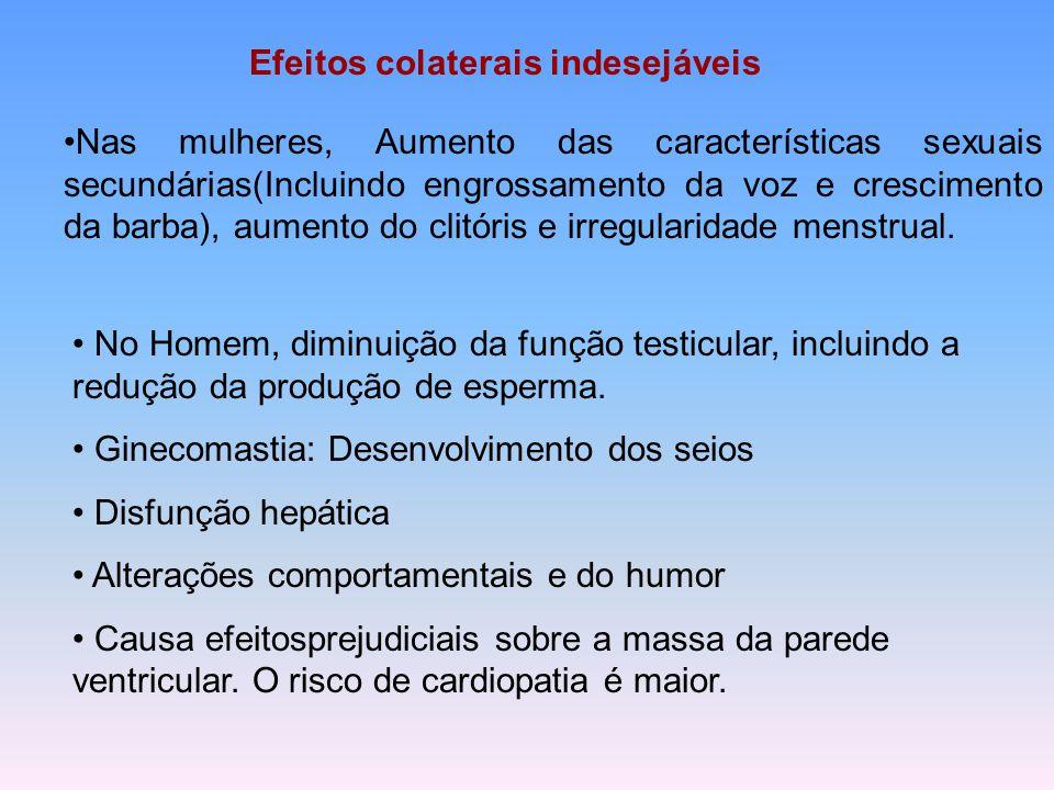 Efeitos colaterais indesejáveis