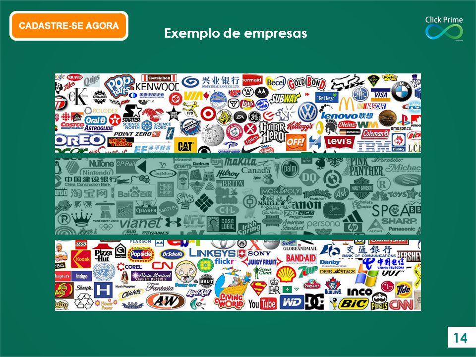 Exemplo de empresas 14