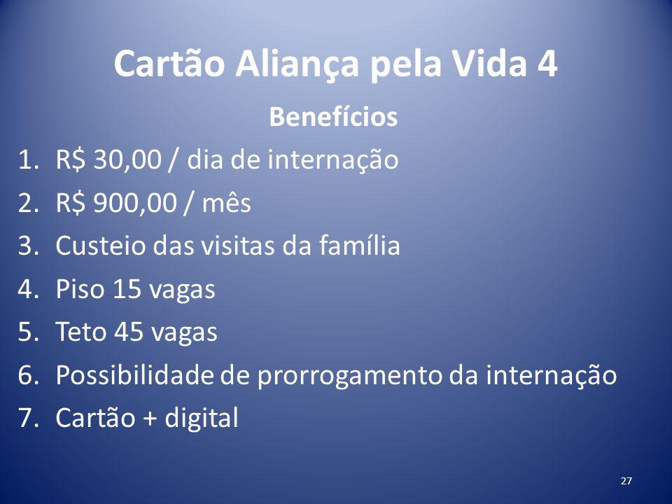 Cartão Aliança pela Vida 4