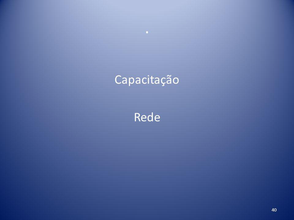 . Capacitação Rede
