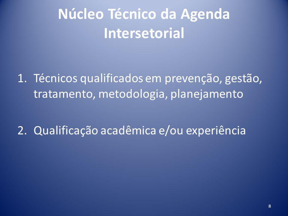 Núcleo Técnico da Agenda Intersetorial