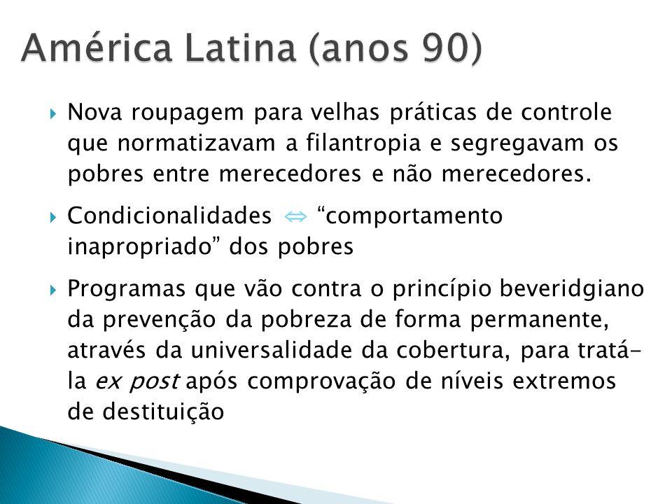 América Latina (anos 90)