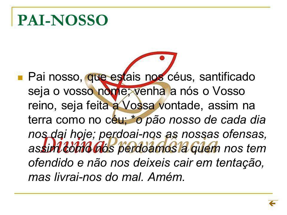 PAI-NOSSO
