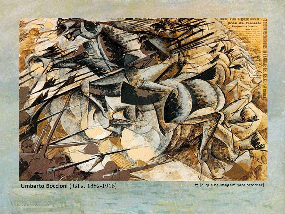 Umberto Boccioni (Itália, 1882-1916)