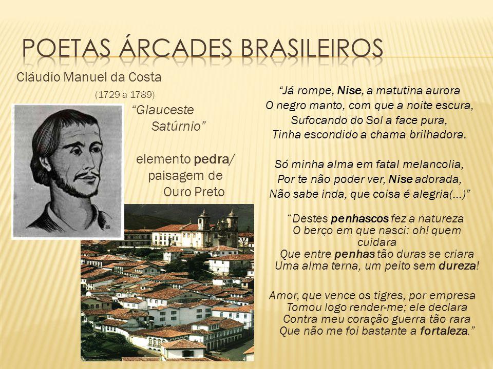 Poetas Árcades brasileiros