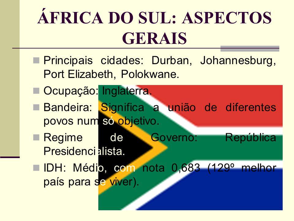 ÁFRICA DO SUL: ASPECTOS GERAIS