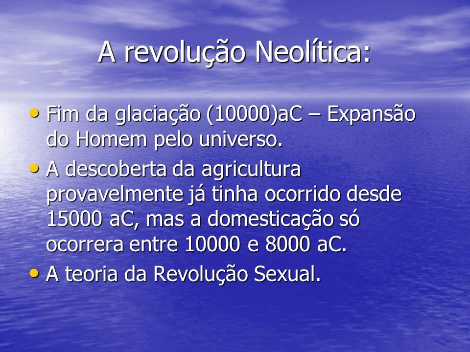 A revolução Neolítica: