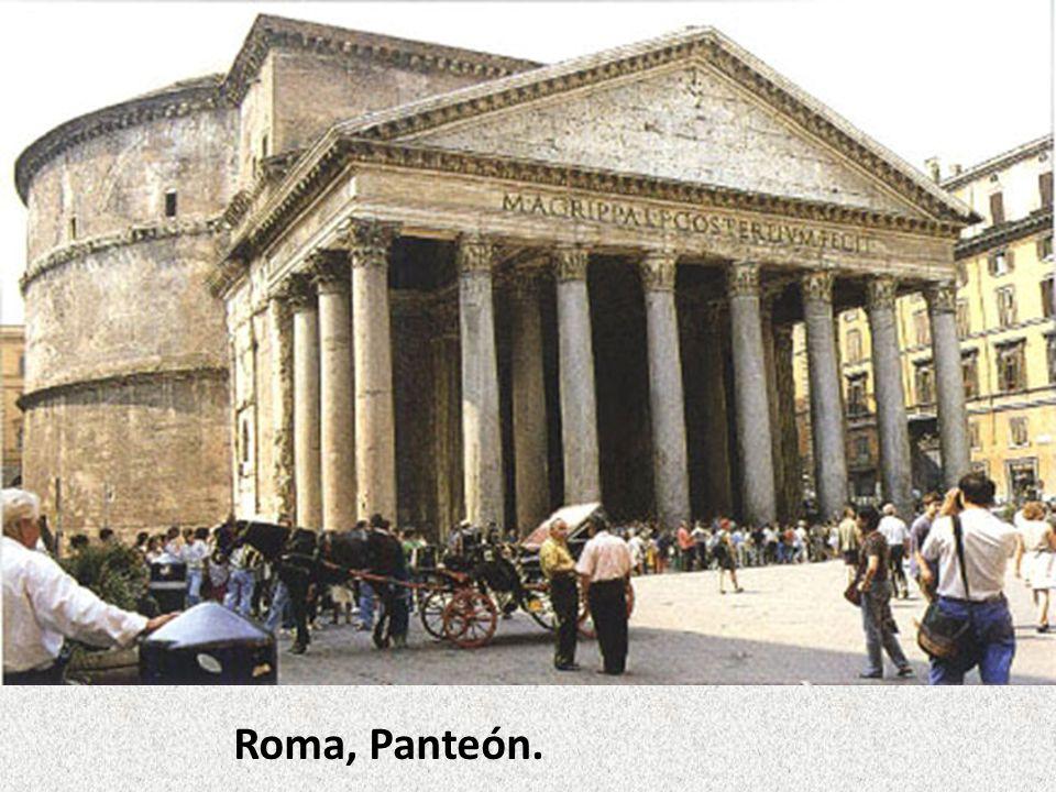 Roma, Panteón.