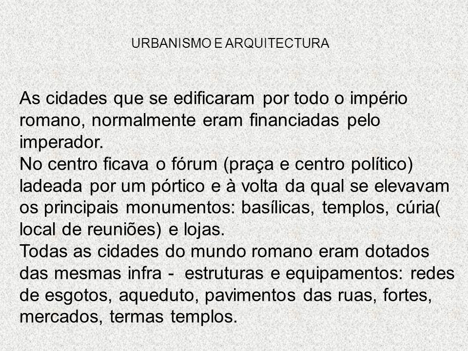 URBANISMO E ARQUITECTURA