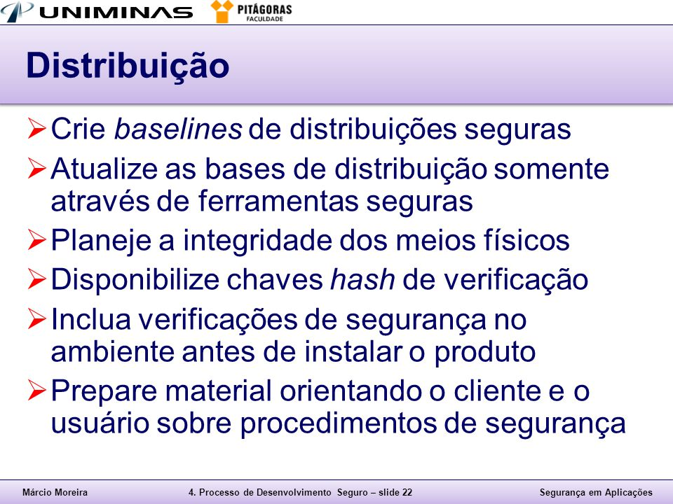 Distribuição Crie baselines de distribuições seguras