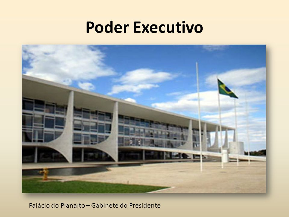 Poder Executivo Palácio do Planalto – Gabinete do Presidente